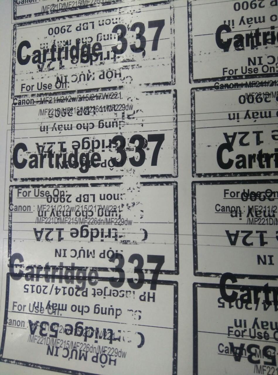 Chỗ Lyvystar Quận 6 & tân bình chuyên bán hộp mực 12A,103,303,703 ...